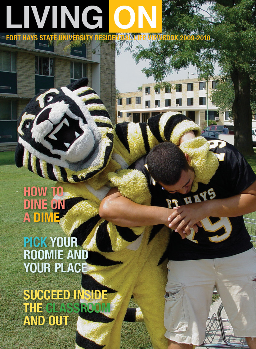FHSU Residential Life Videobook page